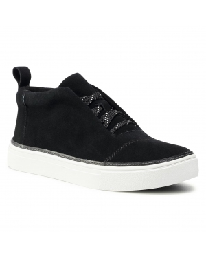 Sneakersy TOMS - Riley 10015799 Black Suede