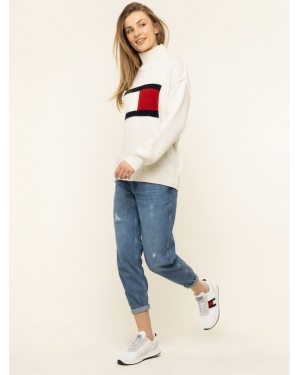 Tommy Jeans Golf Flag DW0DW07625 Beżowy Oversize