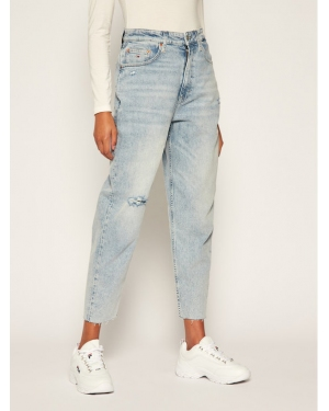 Tommy Jeans Jeansy Relaxed Fit Mom Jean DW0DW08628 Niebieski Tapered Fit