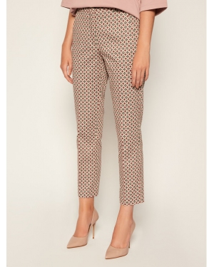 Weekend Max Mara Chinosy Astrale 51360609 Różowy Slim Fit