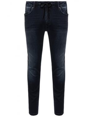 Pepe Jeans Jeansy Johnson PM204385WE1R Granatowy Relaxed Fit