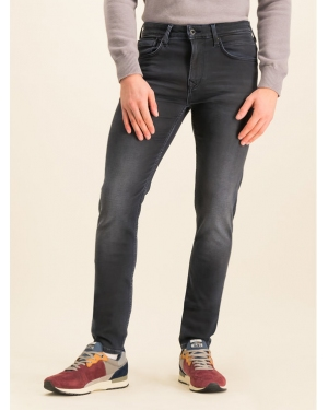 Pepe Jeans Jeansy Nickel Infused PM205148 Granatowy Skinny Fit