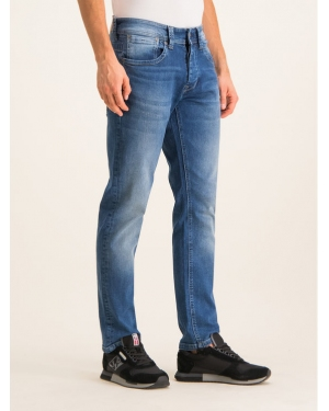 Pepe Jeans Jeansy Cash PM200124 Granatowy Regular Fit