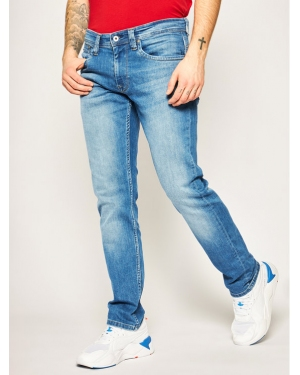 Pepe Jeans Jeansy Regular Fit Cash PM200124 Granatowy Regular Fit