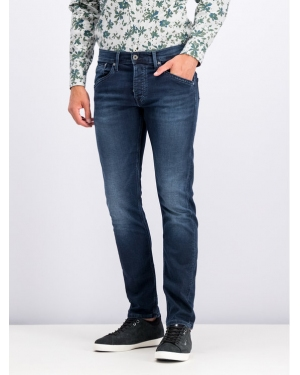 Pepe Jeans Jeansy Regular Fit PM201100WE24 Granatowy Regular Fit