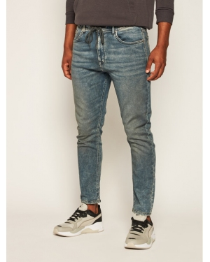 Pepe Jeans Jeansy Relaxed Fit Johnson PM204385 Granatowy Relaxed Fit