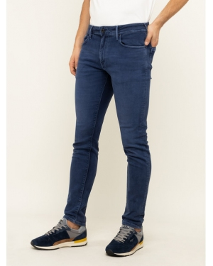 Pepe Jeans Jeansy Tapered Fit Stanley PM210947YB2 Granatowy Tapered Fit