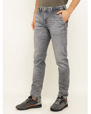 Pepe Jeans Jeansy Slim Fit James PM202365WF7 Szary Slim Fit