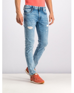 Pepe Jeans Jeansy Taper Fit PM201705WY6 Niebieski Taper Fit