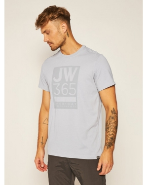Jack Wolfskin T-Shirt 365 T 1806621 Szary Regular Fit