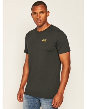 Jack Wolfskin T-Shirt Essential T 1805781 Czarny Regular Fit