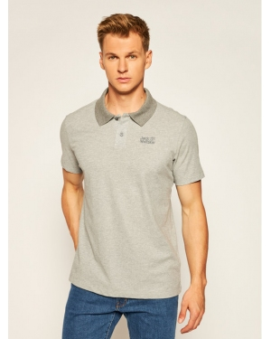 Jack Wolfskin Polo Pique 1804653 Szary Regular Fit