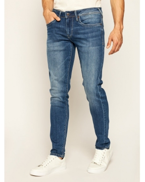 Pepe Jeans Jeansy Slim Fit Hatch PM200823 Granatowy Slim Fit