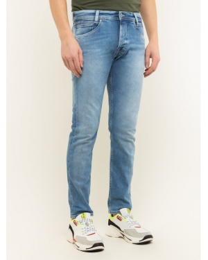 Pepe Jeans Jeansy Regular Fit Spike PM200029NA5 Niebieski Regular Fit