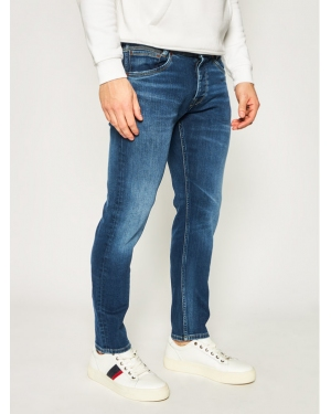 Pepe Jeans Jeansy Regular Fit Spike PM200029 Granatowy Regular Fit