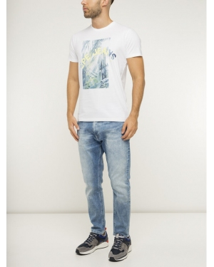 Pepe Jeans Jeansy Regular Fit Johnson PM204385 Niebieski Relaxed Fit