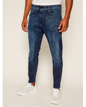 Pepe Jeans Jeansy Regular Fit Johnson PM204385 Granatowy Regular Fit