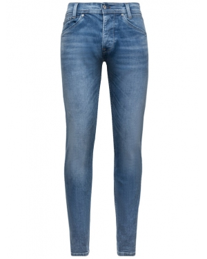 Pepe Jeans Jeansy Regular Fit PM200029GM22 Niebieski Regular Fit