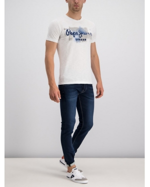 Pepe Jeans Jeansy Regular Fit PM201100DA32 Granatowy Regular Fit