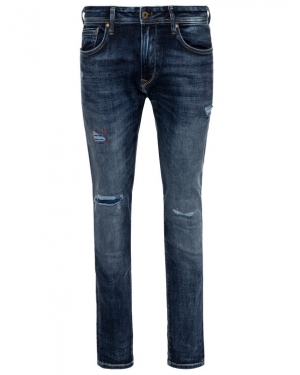 Pepe Jeans Jeansy Regular Fit PM201705RE54 Granatowy Regular Fit