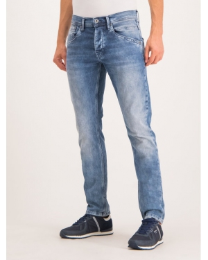 Pepe Jeans Jeansy Regular Fit PM201100GR24 Granatowy Regular Fit