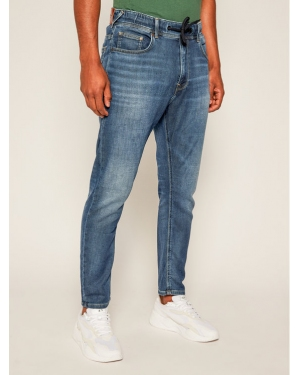 Pepe Jeans Jeansy Regular Fit Johnson PM204385 Granatowy Relaxed Fit