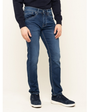 Pepe Jeans Jeansy Regular Fit Track PM201100 Granatowy Regular Fit