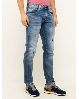 Pepe Jeans Jeansy Regular Fit Zinc Strom PM205207 Granatowy Regular Fit