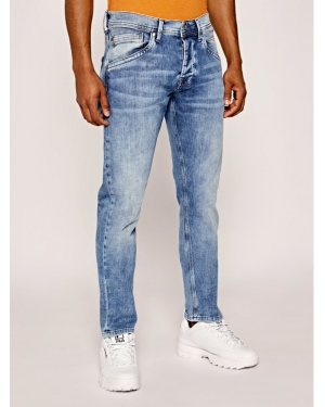 Pepe Jeans Jeansy Regular Fit PM201100GR22 Granatowy Regular Fit