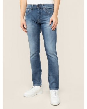 Pepe Jeans Jeansy Regular Fit Track PM201100HB1 Granatowy Regular Fit