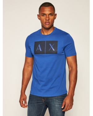 Armani Exchange T-Shirt 8NZTCK Z8H4Z 1506 Granatowy Slim Fit