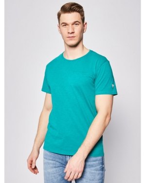 Guess T-Shirt Pocket Tee M0GI54 K6XN0 Zielony Slim Fit