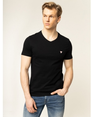 Guess T-Shirt M01I37 I3Z00 Czarny Slim Fit