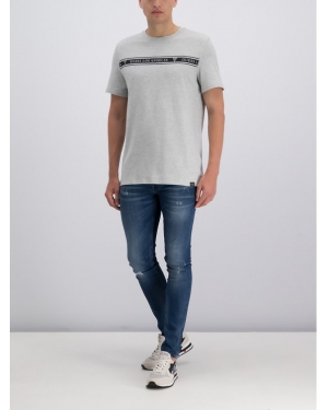 Guess T-Shirt M93I46 K8FQ0 Szary Regular Fit