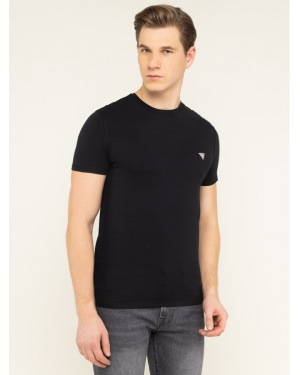 Guess T-Shirt M93I51 J1300 Czarny Super Slim Fit