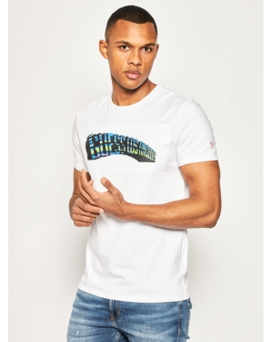 Guess T-Shirt M0GI63 J1300 Biały Slim Fit