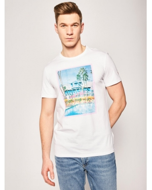 Guess T-Shirt Pool Party Tee M0GI70 J1300 Biały Slim Fit