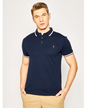 Polo Ralph Lauren Polo 710784010002 Granatowy Slim Fit
