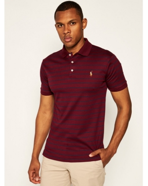 Polo Ralph Lauren Polo Classics 710755892017 Bordowy Slim Fit