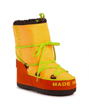 Śniegowce BOGNER - New Tignes 17 303-2164 Neon Orange Gom 37