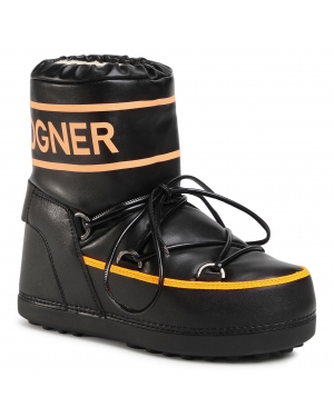 Śniegowce BOGNER - Trois Vallees 27 303-1594 Black/Orange 59