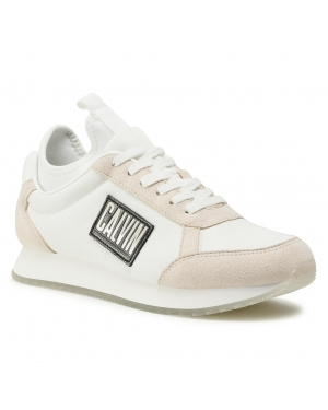 Sneakersy CALVIN KLEIN JEANS - Jodey B4S0715 Bright White/Sand