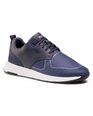 Sneakersy BOSS - Titanium 50446667 10232903 01 Dark Blue 401