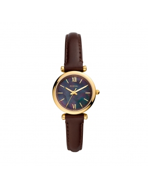 Zegarek FOSSIL - Carlie Mini ES4968 Brown/Gold
