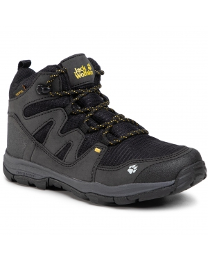 Trekkingi JACK WOLFSKIN - Mtn Attack 3 Texapore Mid K 4034081 S Black/Burly Yellow XT