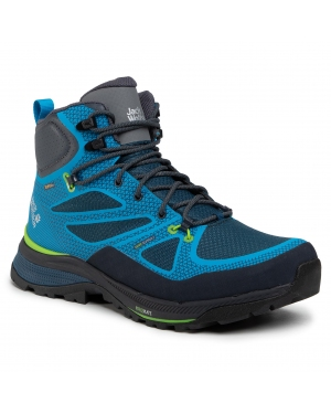 Trekkingi JACK WOLFSKIN - Force Striker Texapore Mid M 4038821  Blue/Green