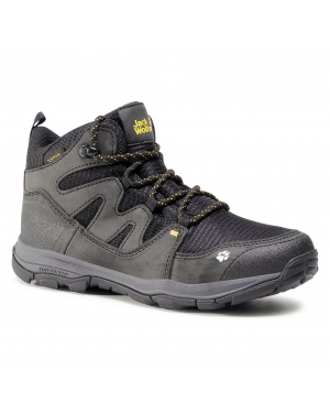 Trekkingi JACK WOLFSKIN - Mtn Attack 3 Texapore Mid K 4034081 D Black/Burly Yellow XT