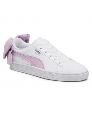 Sneakersy PUMA - Basket Bow Sb Wn's 367353 02 Puma White/Winsome Orchid