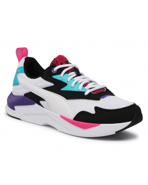Sneakersy PUMA - X-Ray Lite Duo 374123 04 Black/White/Green/Violet