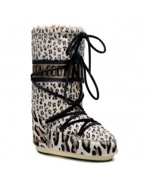 Śniegowce MOON BOOT - Animal 14026200001 Giraffe Print